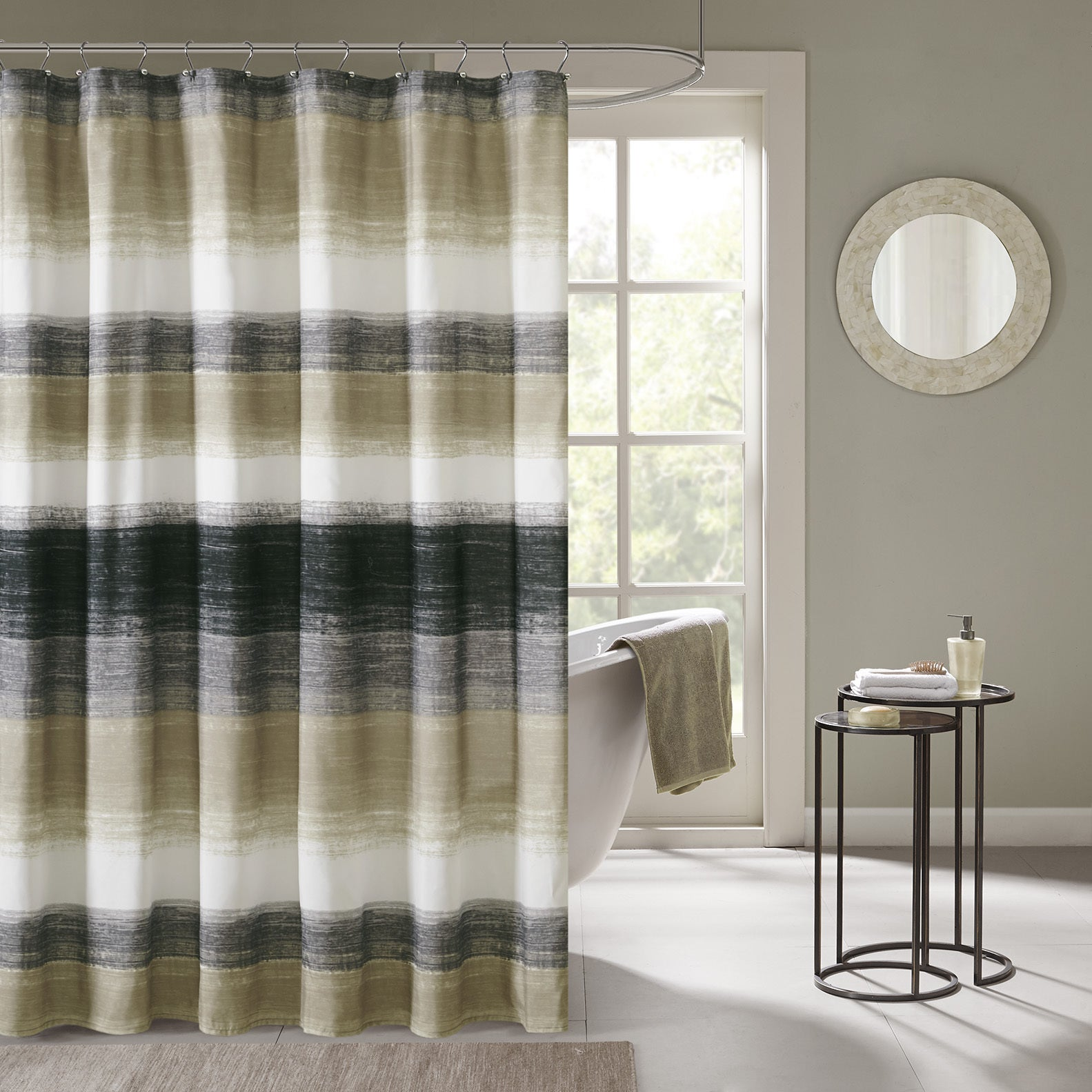 weave with list taupe window faux curtain single gulfport grommets shower blackout panel linen curtains