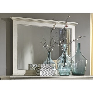 High Country Pine White Washed Mirror