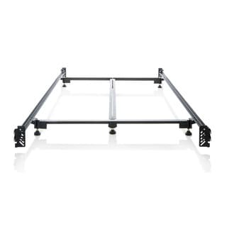 structures steelock hook in headboard footboard heavy duty steel bed frame cal king metal bed rails