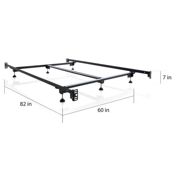 watch 47d63 8f7bd Shop Brookside Heavy-duty Steel Bed Frame Metal Bed Rails ...