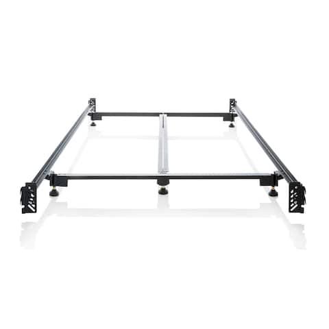 Brookside Heavy-duty Steel Bed Frame Metal Bed Rails Queen
