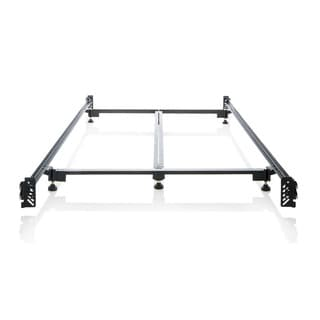 Structures Steelock Hook-in Headboard-footboard Heavy-duty Steel Bed Frame King Metal Bed Rails