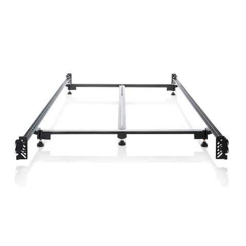 Brookside Heavy-duty Steel Bed Frame Metal Bed Rails King