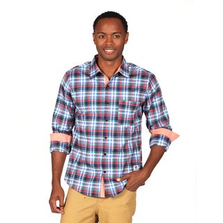 Something Strong Men's Plaid Woven Shirt