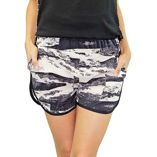 Relished Women's Los Angeles Hills Graphic Print Sportif Shorts