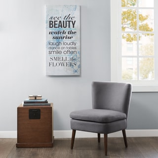 Madison Park See The Beauty Gel Coat Canvas