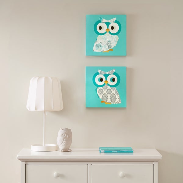 Mi Zone Hoot Hoot Mdf Box 2 Piece Set Free Shipping On Orders Over 45 18109271