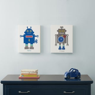 Mi Zone Mr. Robot and Friend Gel Coat Canvas 2-piece Set