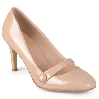 Journee Collection Women's 'Devi' Mary Jane Heels|https://ak1.ostkcdn.com/images/products/11105389/P18109239.jpg?impolicy=medium