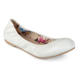 84afd94c070 Buy White Women s Flats Online at Overstock