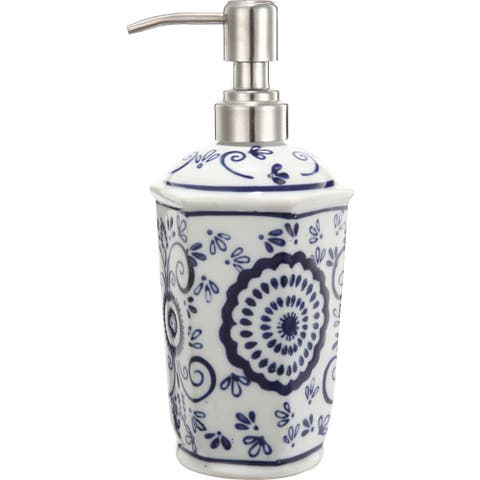 The Curated Nomad Somerset Decorative 4-piece Bathroom Accessories Set