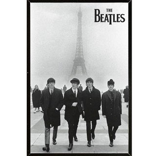 The Beatles - Eiffel Tower Wall Plaque (22 x 34)