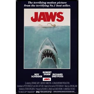 Jaws Wall Plaque (22 x 34)