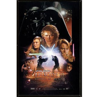 Star Wars Episode 3 Plaque (22 x 34)
