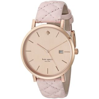 Kate Spade Women's 1YRU0845 'Grand Metro' Pink Leather Watch