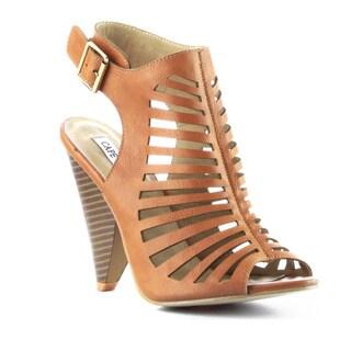 Beston DA111 Women's Stacked Heel Sandals
