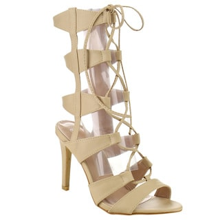 Beston GB12 Women's Stiletto Gladiator Sandals