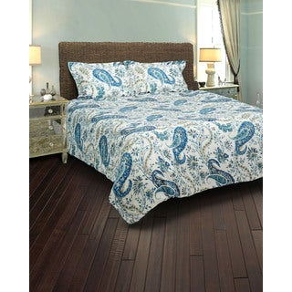 Rizzy Home Paisley 3-piece Comforter Set