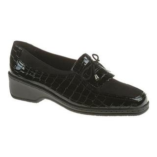 Women's ara Rachel 41121 Black Croco
