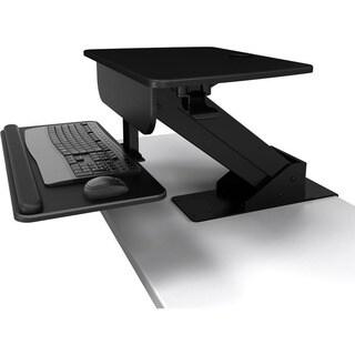 Atdec Sit to Stand Desk Clamp Workstation - A-STSCB- Height Adjustabl