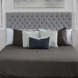 Jezebel Fully Upholstered Full/ Queen Button Tufted Headboard by Christopher Knight Home