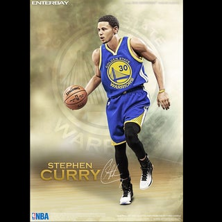 Enterbay RM-1066 Real Masterpiece NBA Collection Golden State Warriors Stephen Curry 1:6 Action Figure
