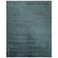 Lizette Solid Teal Area Rug (5' X 8') - 5' x 8'