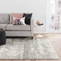 Oriel Abstract Gray/ Taupe Area Rug - 10' x 13'