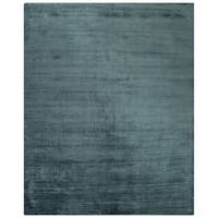 Lizette Solid Teal Area Rug (8' X 10') - 8' x 10'