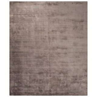 "Lizette Solid Dark Gray Area Rug (9' X 12') - 8'10"" x 11'9"""