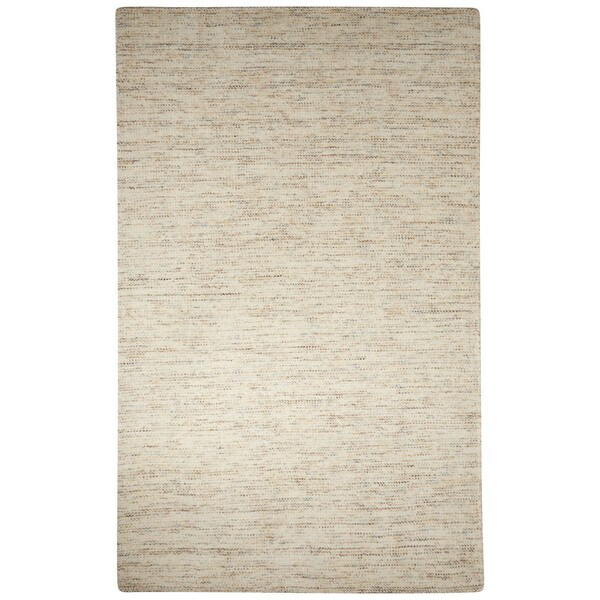 Handmade Solid White Area Rug (2' X 3')