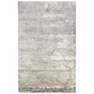 Giffard Abstract Gray Area Rug (2' X 3') (As Is Item)