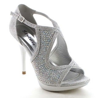 Beston BB24 Women's Rhinestone Sandal