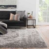 Finlay Solid Silver Area Rug (9' X 12') - 9' x 12'
