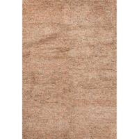 Shag Solid Orange Area Rug - 2' x 3'