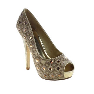 Beston BA93 Women's Rhinestone Stiletto