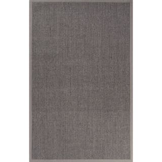 Natural Solid Gray/ Silver Area Rug (2' X 3')|https://ak1.ostkcdn.com/images/products/11111266/P18114457.jpg?impolicy=medium