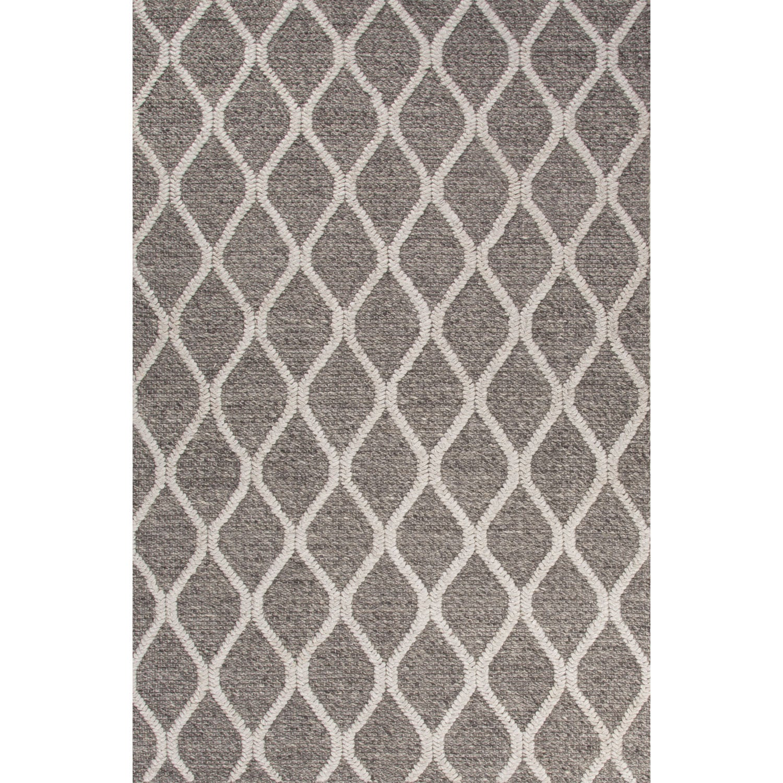 Juniper Home Handmade Tribal Gray/ Silver Area Rug (2' X ...