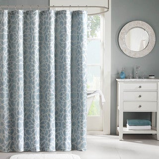 Madison Park Cecilia Jacquard Shower Curtain