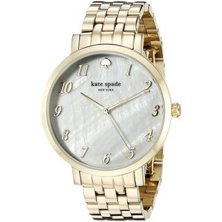 Kate Spade Women's 1YRU0847 'Monterey' Gold-Tone Stainless Steel Watch