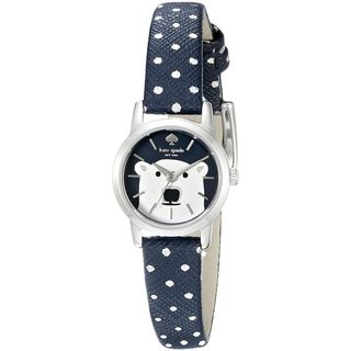 Kate Spade Women's KSW1024 'Tiny Metro' Polar Bear Blue Leather Watch