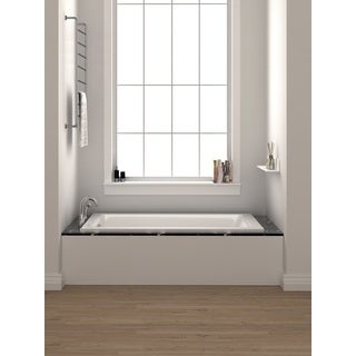 Fine Fixtures 60-inch Soaking Drop-in or Alcove Bathtub