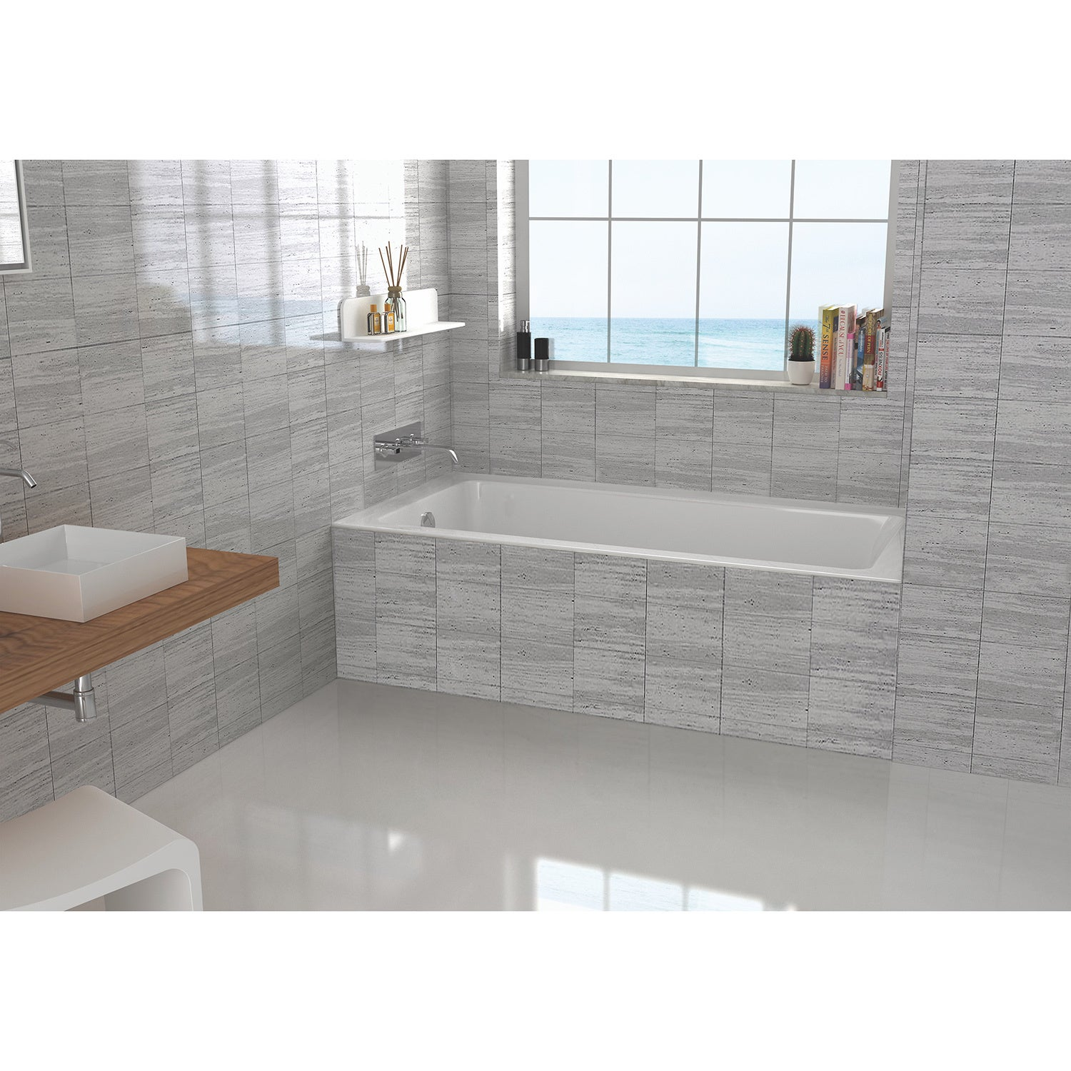 Side Fixed Tile 60 X 32 X19