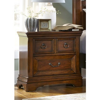 Laurelwood Chestnut 2-Drawer Nightstand