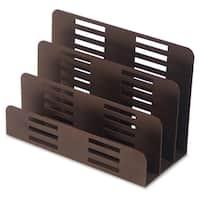 Lorell Stamped Metal 3-Tier File Sorter - (1/Each)
