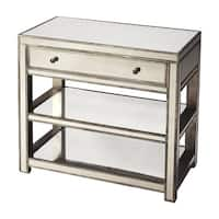 Butler Mirror Finish Modern Console Table