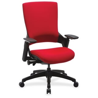 Lorell Red Executive Multi-function High-back Chair