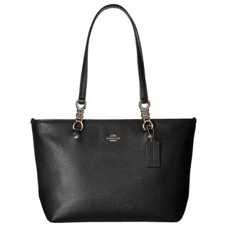 Coach Pebbled Leather Small Sophia Tote