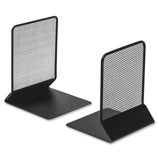 Link to Lorell Black Mesh Bookends (Set of 2) Similar Items in Desk Accessories