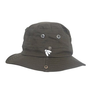 Adult Olive Boonie Mosquito Net Hat Bughat (Size L/XL)